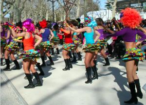 Animation danse et carnaval bresilien à Montpellier - Danser Lâcher Prise